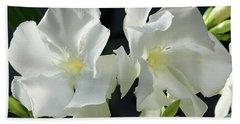 Oleander Mont Blanc 1 Beach Towel