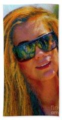 Olivia Carnahan Beach Towel