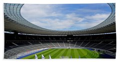 Olympic Stadium Berlin Beach Towel