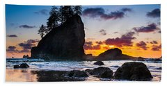 Olympic Sunset Beach Towel