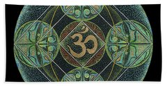 Om Beach Towel