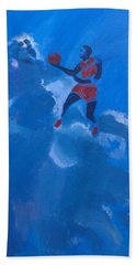 Omaggio A Michael Jordan Beach Towel