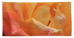 Ombre Rose Beach Towel