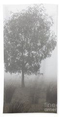Beach Towel featuring the photograph On A Winter's Morning by Linda Lees