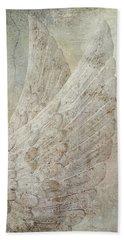 On Angels Wings Beach Towel