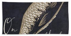 On Fleek Beach Towel by Mindy Sommers