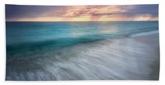 On The Horizon  Beach Towel by Nicki Frates