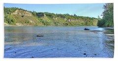 On The North Saskatchewan River Beach Sheet
