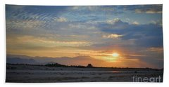 On The Road Beach Towel by Angela J Wright