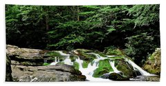 On The Way To Cades Cove Beach Towel
