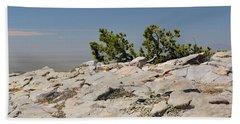 On Top Of Sandia Mountain Beach Towel