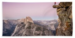 On Top Of The World Beach Towel