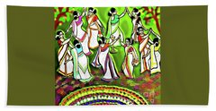 Onam Festival Beach Towel