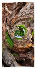 Beach Towel featuring the photograph Once A Tree by Pennie  McCracken