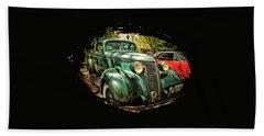 One Cool 1937 Studebaker Sedan Beach Towel