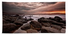Beach Towel featuring the photograph One Final Moment by Jorge Maia