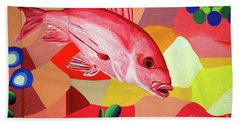 One Fish Two Fish Beach Towel