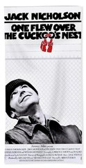 One Flew Over The Cuckoo's Nest Beach Towel