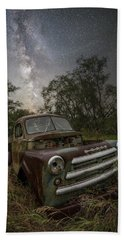 Beach Sheet featuring the photograph One Headlight  by Aaron J Groen