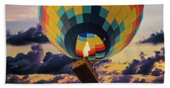 One Morning In Napa Valley Beach Towel