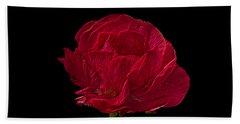 One Red Flower Tee Shirt Beach Towel