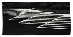 One Step At A Time Beach Sheet by Eduard Moldoveanu