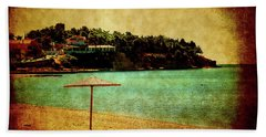 One Summer Day In Greece Beach Towel