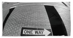 One Way Or Another Beach Towel