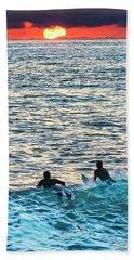 One With The Sun Beach Towel
