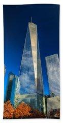 One World Trade Center Beach Towel
