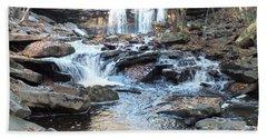 Oneida Falls 3 - Ricketts Glen Beach Towel