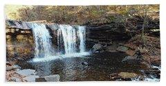Oneida Falls - Ricketts Glen Beach Towel