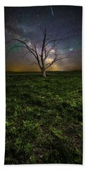 Beach Towel featuring the photograph Only by Aaron J Groen