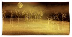 Only At Night Beach Towel by Holly Kempe