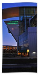 Beach Towel featuring the photograph Connecticut Science Center by Mike Martin