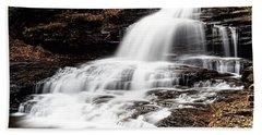 Onondaga Falls Beach Towel