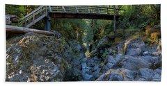 Opal Creek Bridge Beach Towel