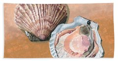 Open Scallop Beach Towel