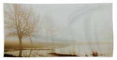 Beach Towel featuring the photograph Open Space by Iris Greenwell