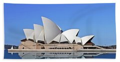 Opera House Beach Towel