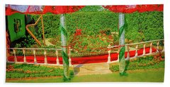 Beach Towel featuring the photograph Opera.  by Leif Sohlman