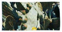 Opuntia Ficus Beach Towel