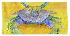 Orange Crab Beach Sheet