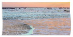 Orange Crush Sunset Beach Towel by Shelia Kempf