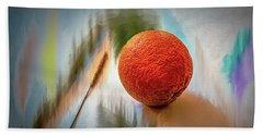 Orange #g4 Beach Towel