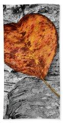 Orange Leaf Beach Sheet