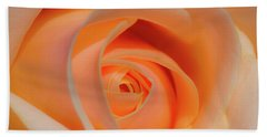 Orange Rose Beach Sheet