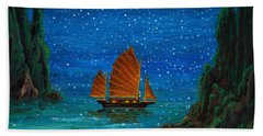 Orange Sail Beach Sheet
