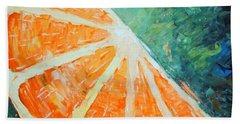 Orange Slice Beach Towel