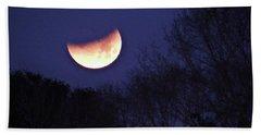 Orange Slice Moon 2018 Beach Towel